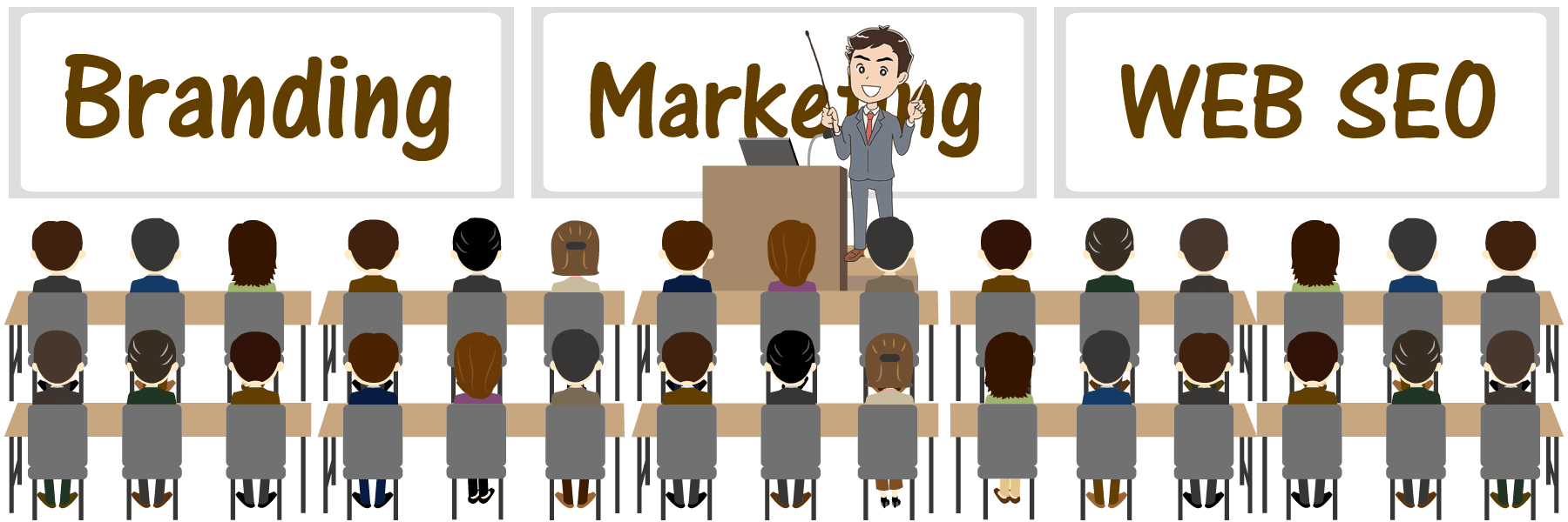 SEO対策で中小零細企業や個人事業主が巨大サイトを倒す!? | ブランディング実務士資格講座